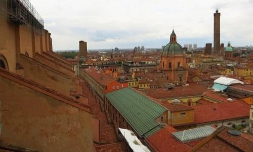 Zdjecie WłOCHY / Emilia-Romania / Bolonia / panorama miasta
