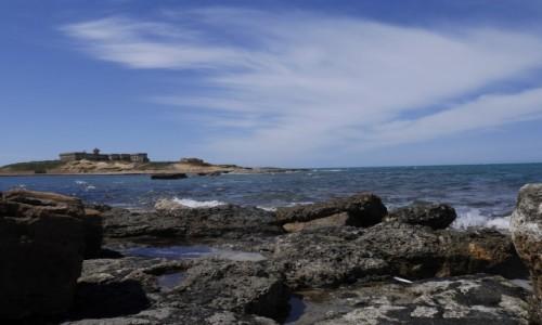 Zdjęcie WłOCHY / Sycylia / Isola delle Coriente / Samo południe