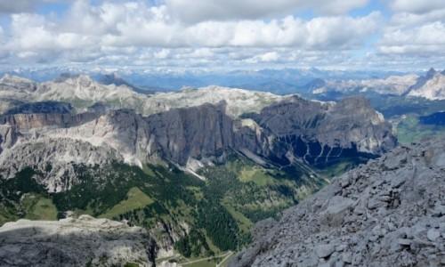 Zdjecie WłOCHY / Południowy Tyrol / Cima Pisciadù 2 985 m / Cima Pisciadù