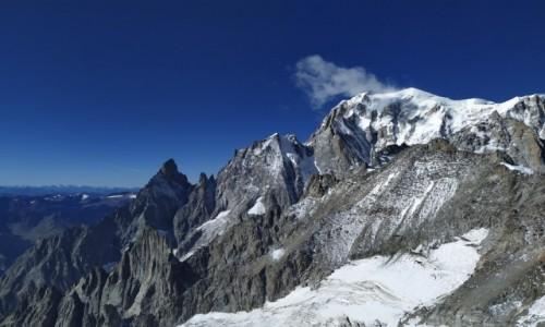 Zdjecie WłOCHY / Alpy Włoskie / Monte Bianco/Mont Blanc / ALPY