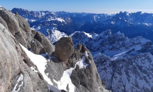 Zdjecie WłOCHY / Alpy / Dolomity / Dolomity zimą