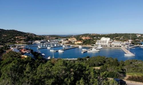Zdjecie WłOCHY / Sardynia / Porto Cervo / Widok na marinę
