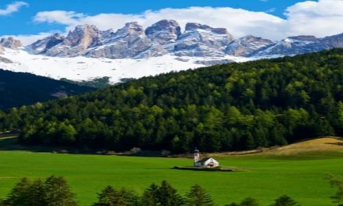WłOCHY / Tyrol / Dolomity / Santa Maddalena