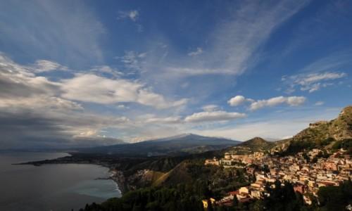 WłOCHY / sycylia / taormina /  ETNA z Taorminy