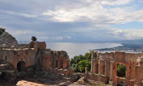 Zdjecie WłOCHY / wschód / Taormina / Teatr w Taorminie