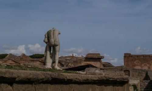 Zdjecie WłOCHY / Lacjum / Ostia Antica / starożytne ruiny
