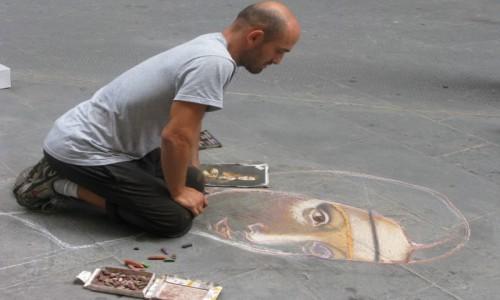 Zdjecie WłOCHY / - / Florencja / Współczesny Leonardo?