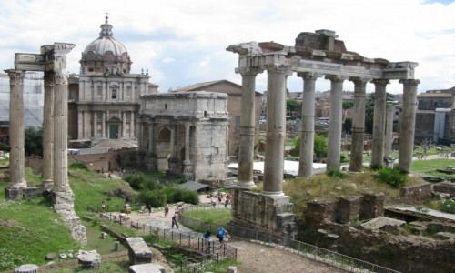 Zdjecie WłOCHY / - / Rzym / Miasto- państwo Rzym?