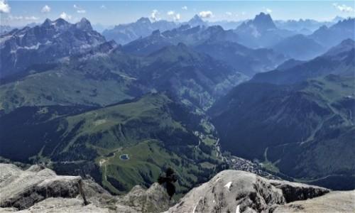 WłOCHY / alpy / Piz Boe / widok ze szczytu :)