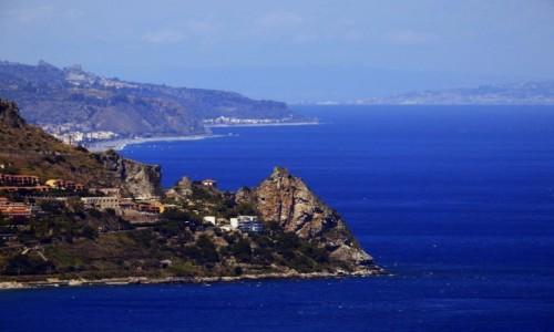 Zdjecie WłOCHY / Sycylia / Taormina / Morze Jońskie