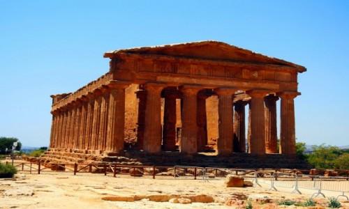Zdjecie WłOCHY / Sycylia / Agrigento / Świątynia  Zgody