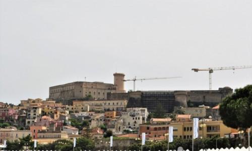 Zdjęcie WłOCHY / Lazio / Gaeta / Gaeta, widok na zamek