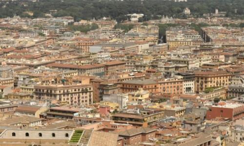 Zdjęcie WłOCHY / Lazio / Watykan / Watykan, widok na Rzym