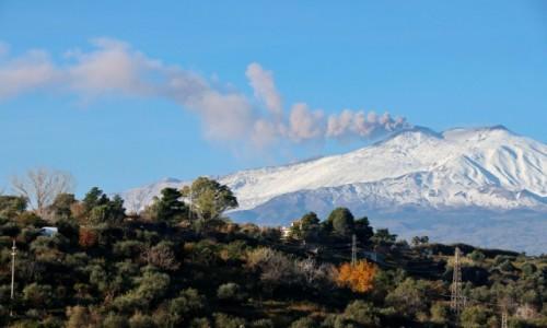 Zdjecie WłOCHY / Sycylia / Giardini Naxos / Etna aktywna
