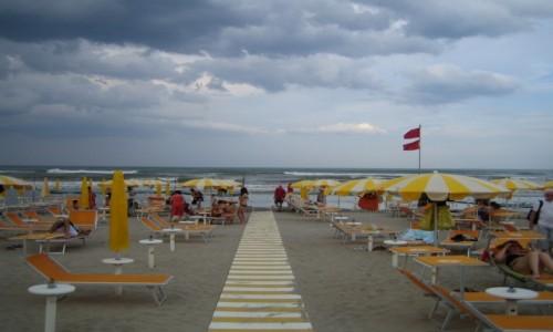 Zdjecie WłOCHY / Emilia Romana / Igea Marina / Plaża w Igea Marina Włochy