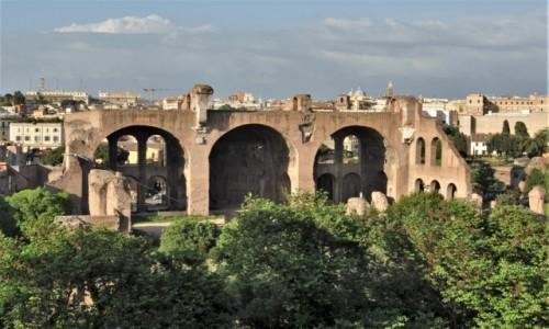 Zdjecie WłOCHY / Lazio / Rzym / Rzym, Basilica di Massenzio