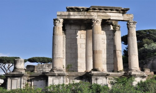 WłOCHY / Lazio / Rzym / Rzym, Forum Romanum