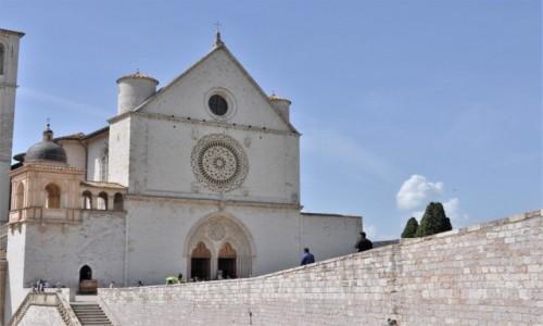 WłOCHY / Umbria / Asyż / Asyż, bazylika św. Franciszka