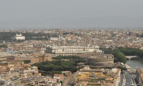 Zdjecie WłOCHY / Lazio / Rzym / Rzym, widok z Watykanu