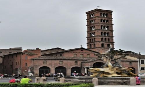 WłOCHY / Lazio / Rzym / Rzym, Bazylika Santa Maria in Cosmedin