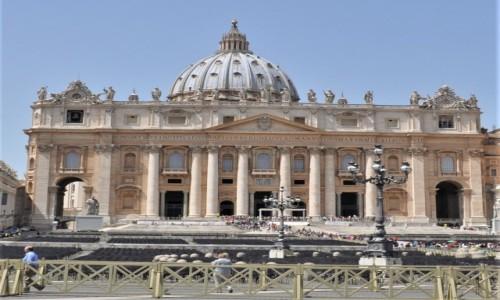Zdjecie WłOCHY / Lazio / Rzym / Rzym, bazylika św. Piotra