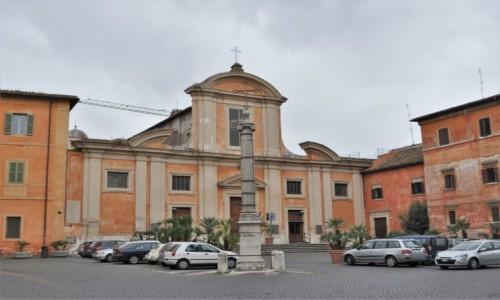 WłOCHY / Lazio / Rzym / Rzym, Chiesa San Francesco a Ripa