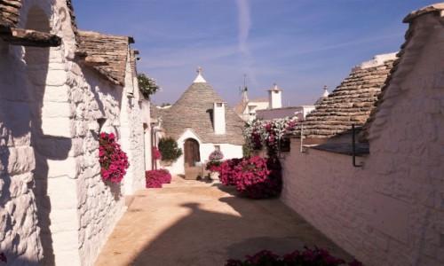 WłOCHY / Apulia / Rione Monti / Alberobello - zakamarki