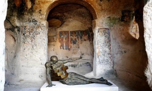 WłOCHY / Bazylikata / Kościół St Nicola dei Greci / Matera - dla tych, co widzą, ale nie wiedzą, a chcieliby -podpowiedź
