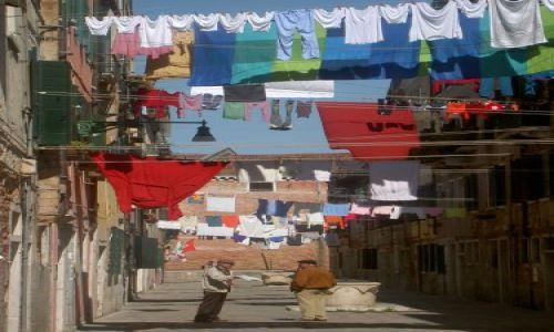 Zdjecie WłOCHY / brak / Wenecja / Wenecja w marcu - niedzielne pranie
