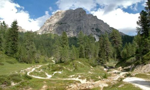 Zdjecie WłOCHY / Dolomity / Croda da Lago / :-)