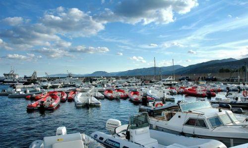 Zdjecie WłOCHY / Sardynia / Porto Cervo / przystań