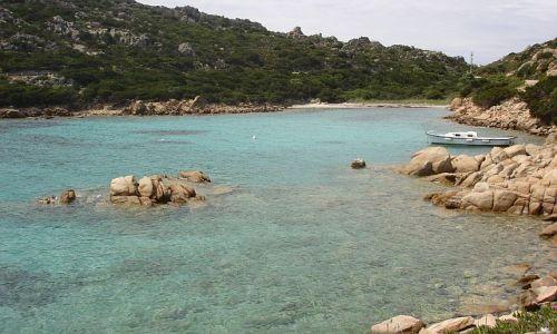 Zdjecie WłOCHY / La Maddalena / La Maddalena / zatoczka