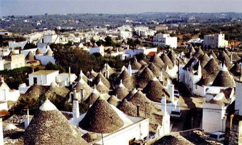 Zdjecie W�OCHY / Apulia / Alberobello / W krainie trull