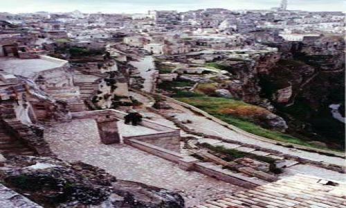 Zdjecie W�OCHY / Basilicata / Matera Sassi / Umar�e miasta