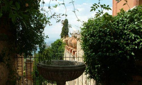 Zdjecie W�OCHY / Sycylia / Taormina / Ogrody Taorminy