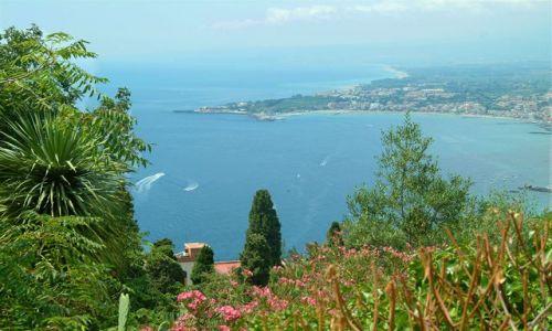 Zdjecie W�OCHY / Sycylia / Taormina / Wschodnie wybrz