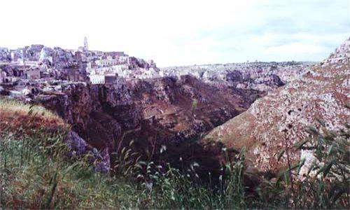 Zdjecie WłOCHY / Basilicata / Matera Sassi / Umarłe miasta