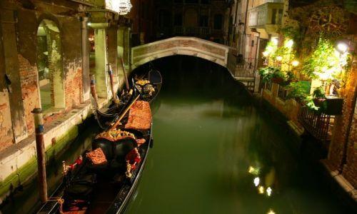 Zdjecie WłOCHY / brak / Wenecja / Wenecja noca