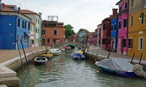 Zdjecie WłOCHY / Emilia Romania / Wenecja - Burano / Wyspa Burano