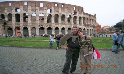 Zdjecie WłOCHY / RZYM / Okolice  starożytnego  Rzymu / COLOSEUM