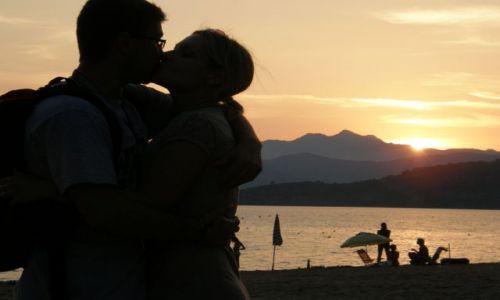 Zdjęcie WłOCHY / Toskania / Porto Azzuro / Zachód słońca na Elbie