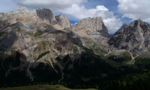 Zdjecie WłOCHY / Dolomity / passo Ombretta / passo Ombretta
