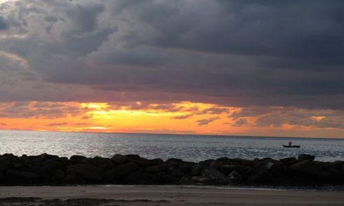 Zdjecie WłOCHY / Lazio / Santa Severa / Zachód słońca