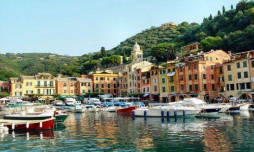 Zdjecie WłOCHY / Liguria / Portofino / Niegdyś biedna wioska rybacka, dziś...