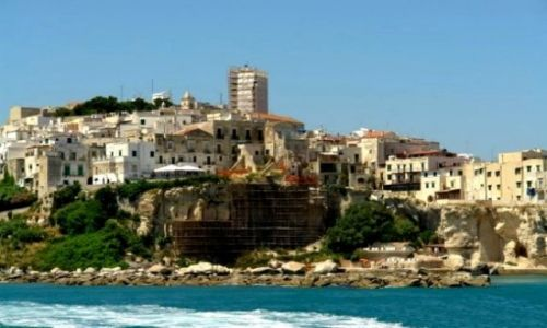 Zdjecie WłOCHY / Puglia - Gargano / Vieste / Włoskie nadmorskie klimaty...