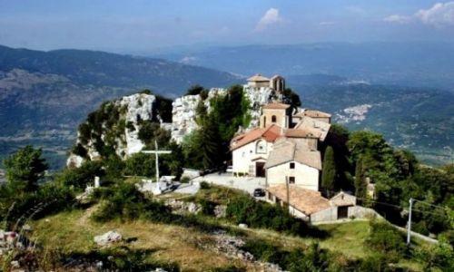 Zdjecie WłOCHY / brak / Mentorella / Sanktuarium blisko nieba
