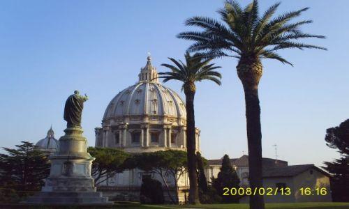 Zdjecie WłOCHY / Rzym / Watykan / Ogrody watykańskie