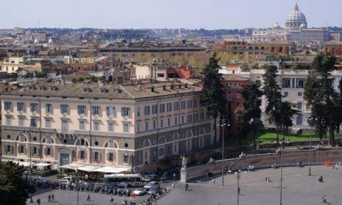 Zdjęcie WłOCHY / Lazio / Rzym/Piazza del Popolo / W stronę Watykanu przed Wielkanocą