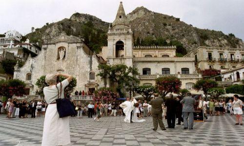 Zdjecie WłOCHY / brak / Sycylia, Taormina / Co za ślub!