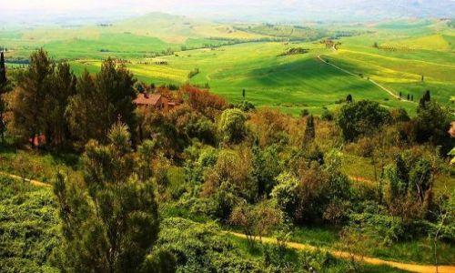 Zdjecie WłOCHY / Toskania / Pienza / Nostaliczne klimaty